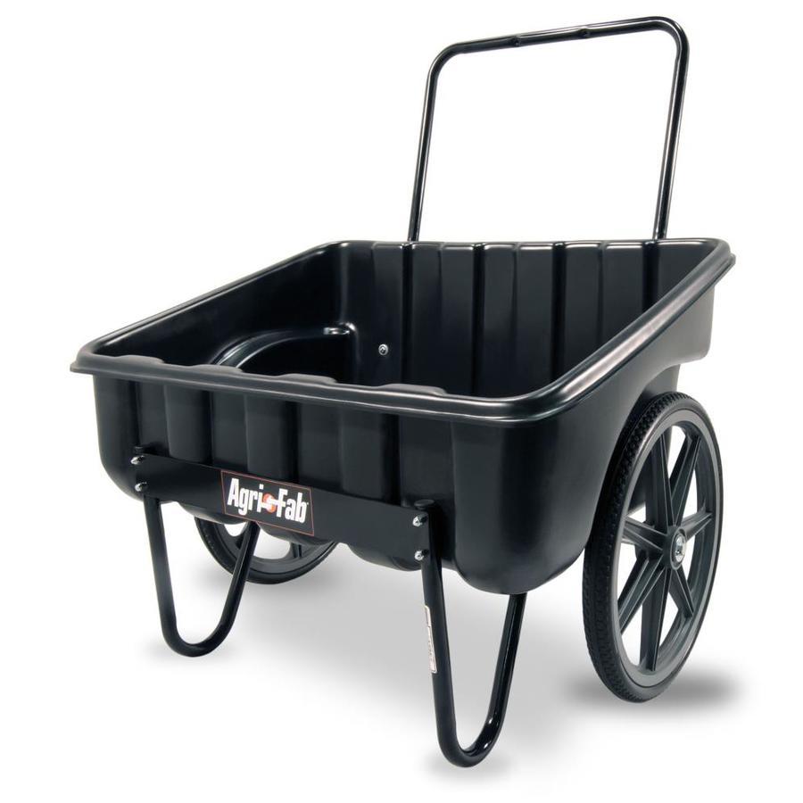 Shop Agri Fab 5 Cu Ft Poly Yard Cart At