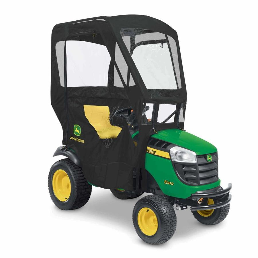 John Deere Black Woven Polyester And Pvc Riding Lawn Mower Canopy In The Riding Lawn Mower Canopies Department At Lowes Com