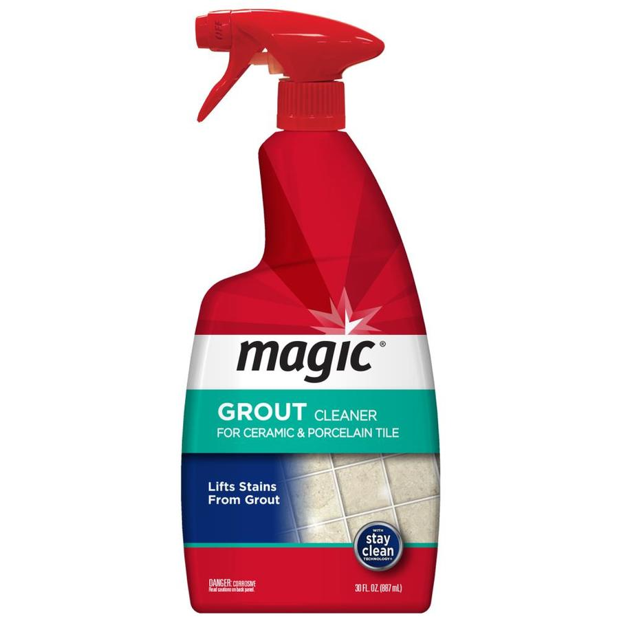 magic 30 oz grout cleaner