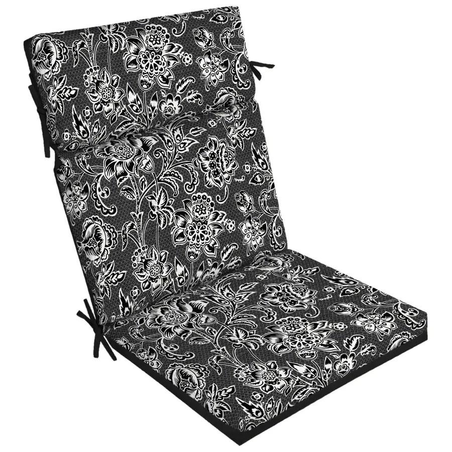 jacobean high back patio chair cushion