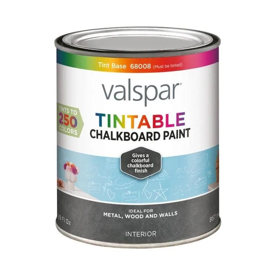 Valspar Tintable Latex Chalkboard Paint Actual Net Contents  Oz