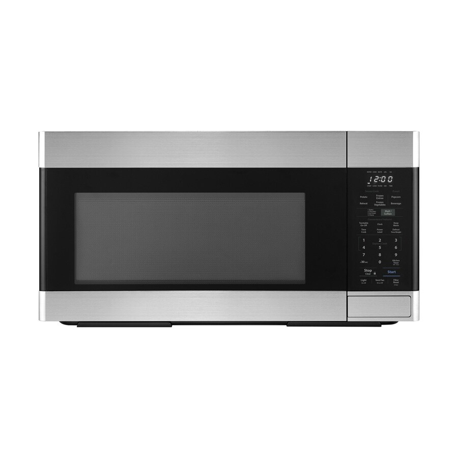sharp smo1652ds 1 6 cu ft over the range microwave with sensor cooking stainless steel