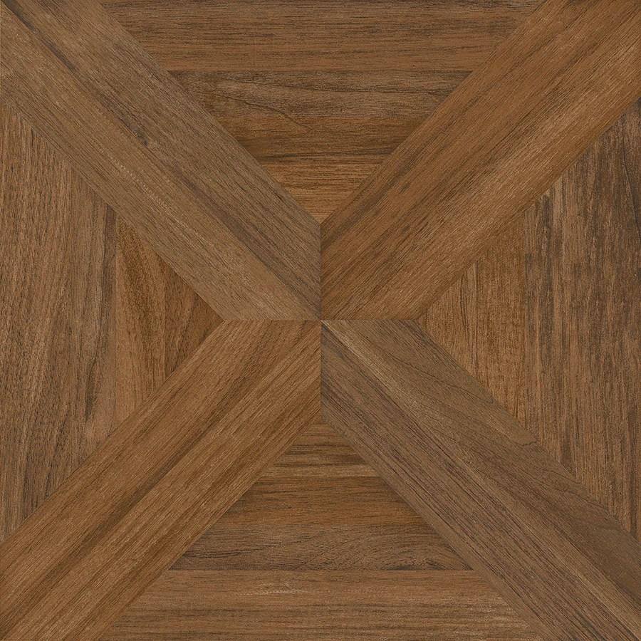 nitrotile villanova brown unglazed ceramic wood look floor tile
