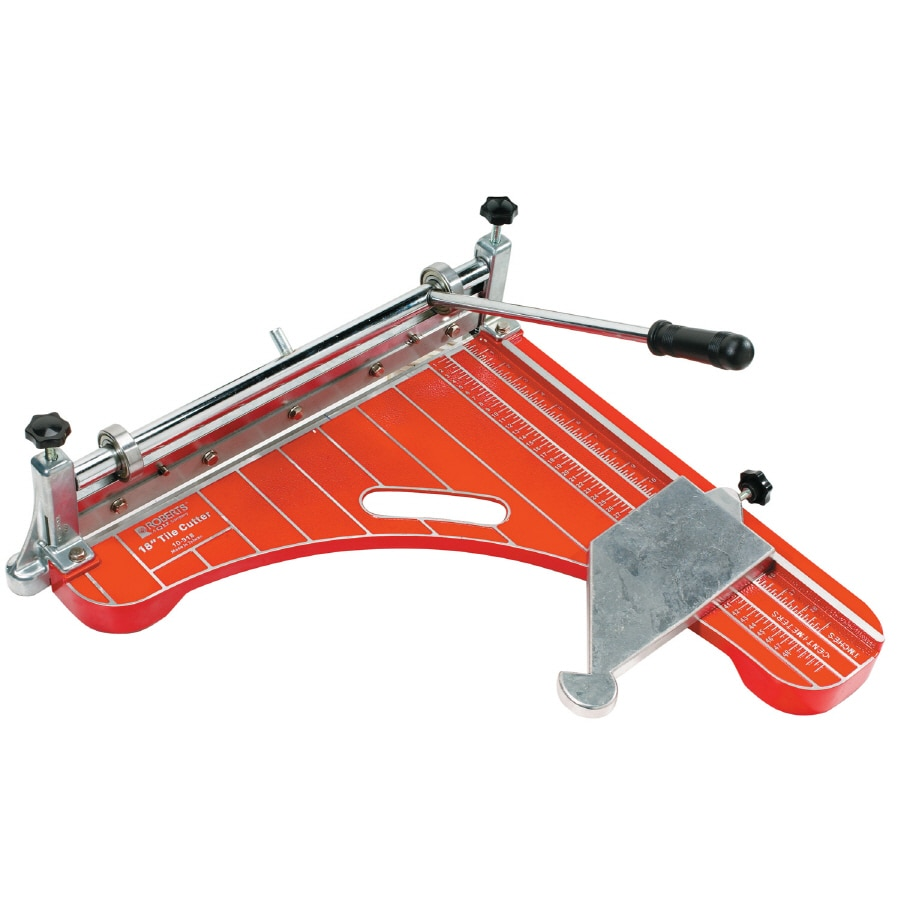 Can You Rent a Wet Saw from Lowes. Roberts 18 In Vinyl Tile Cutter In The Tile Cutters Department At Lowes Com