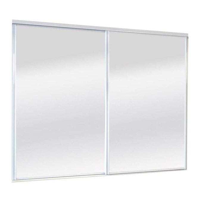 Image Of Bifold Mirror Closet Doors