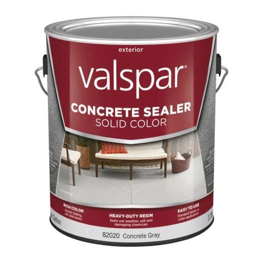 Valspar Concrete Gray Solid Sealer Actual Net Contents 128 Fl Oz