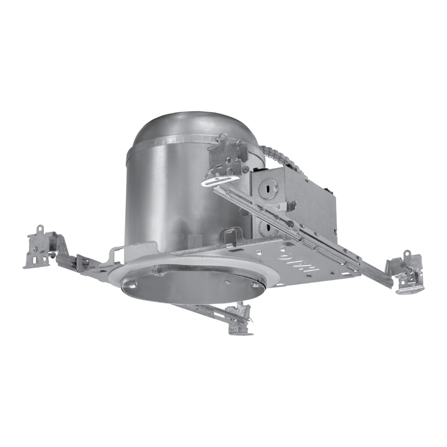 halo new construction airtight ic 6 in recessed light housing lowes com