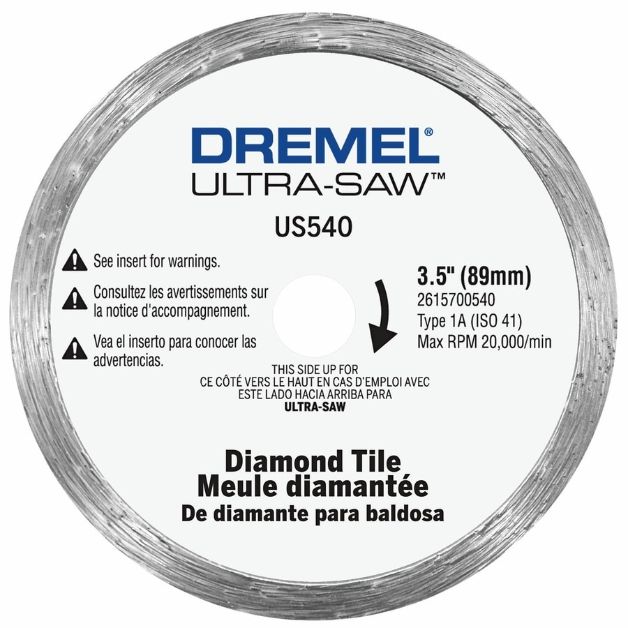 dremel 3 3 8 in continuous diamond tile saw blade