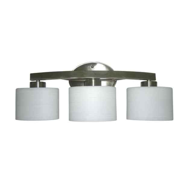 Shop Vanity Lights at Lowes com allen   roth Merington 21 5 in Vanity Light Bar