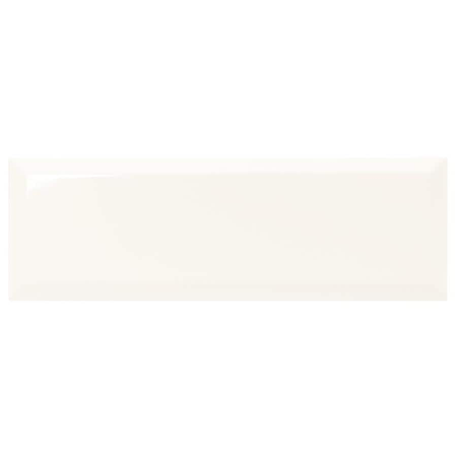 american olean starting line gloss white 4 in x 12 in glazed ceramic subway wall tile