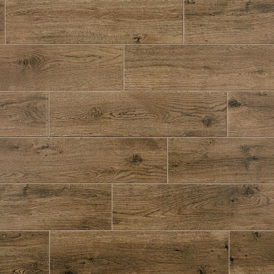 mohawk foreverstyle oak wood 6 in x 24 in matte porcelain wood look floor tile
