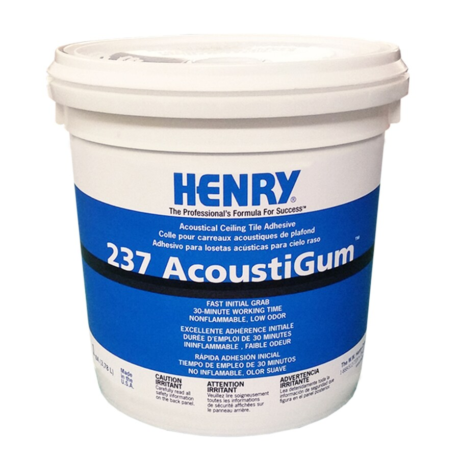 henry h 237 acoustigum off white interior ceiling tile adhesive actual net contents 128 fl oz lowes com