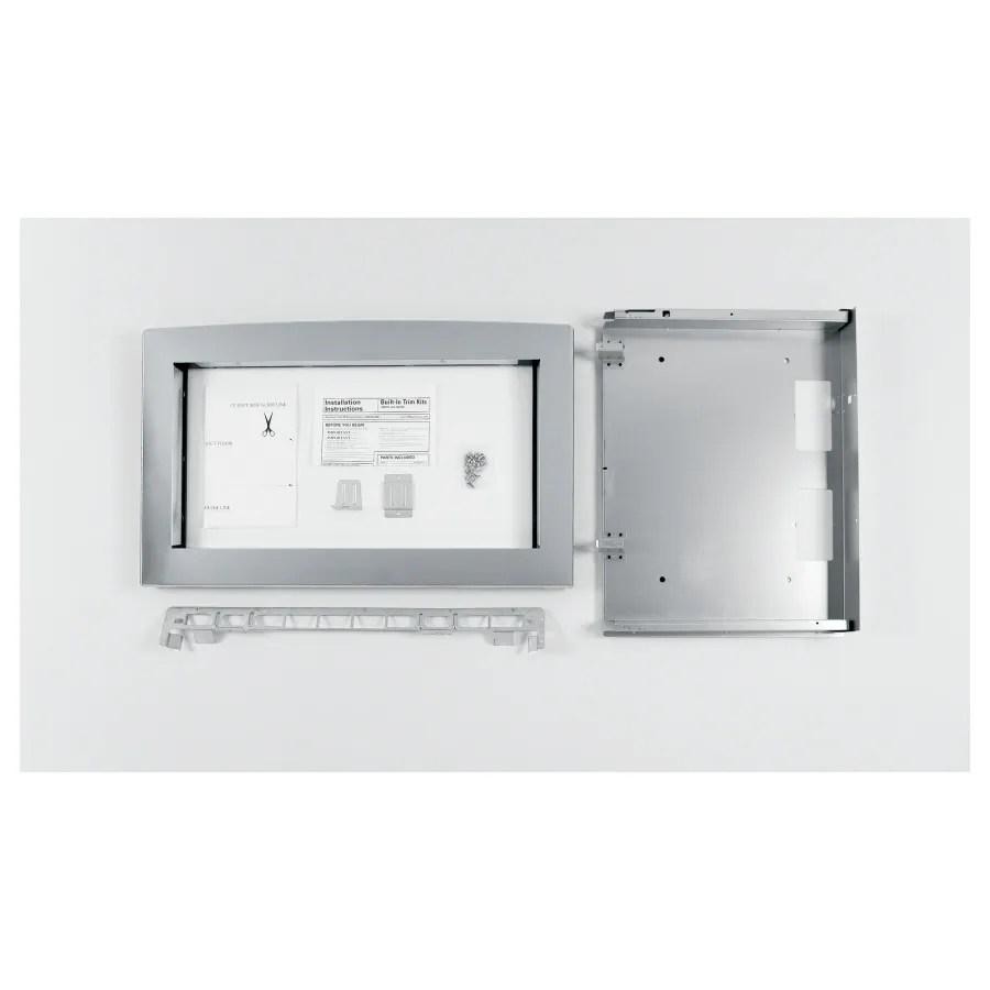 ge profile built in microwave trim kit