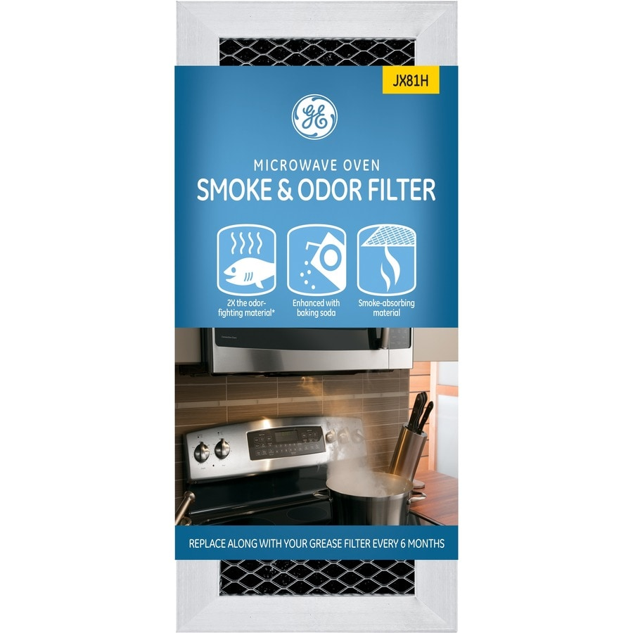 ge over the range microwave filter kit black in the microwave parts department at lowes com