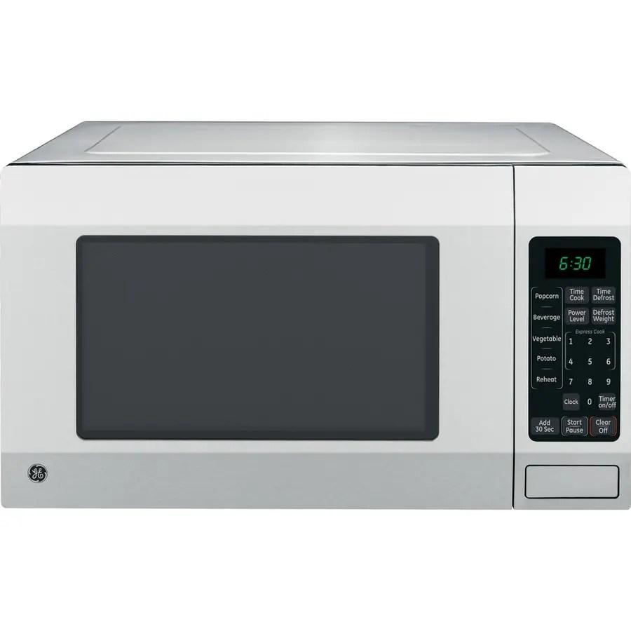 ge 1 6 cu ft 1150 watt countertop microwave stainless steel