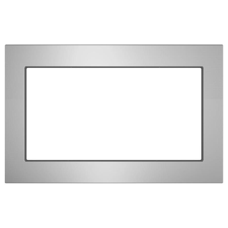 ge universal trim kit stainless steel lowes com