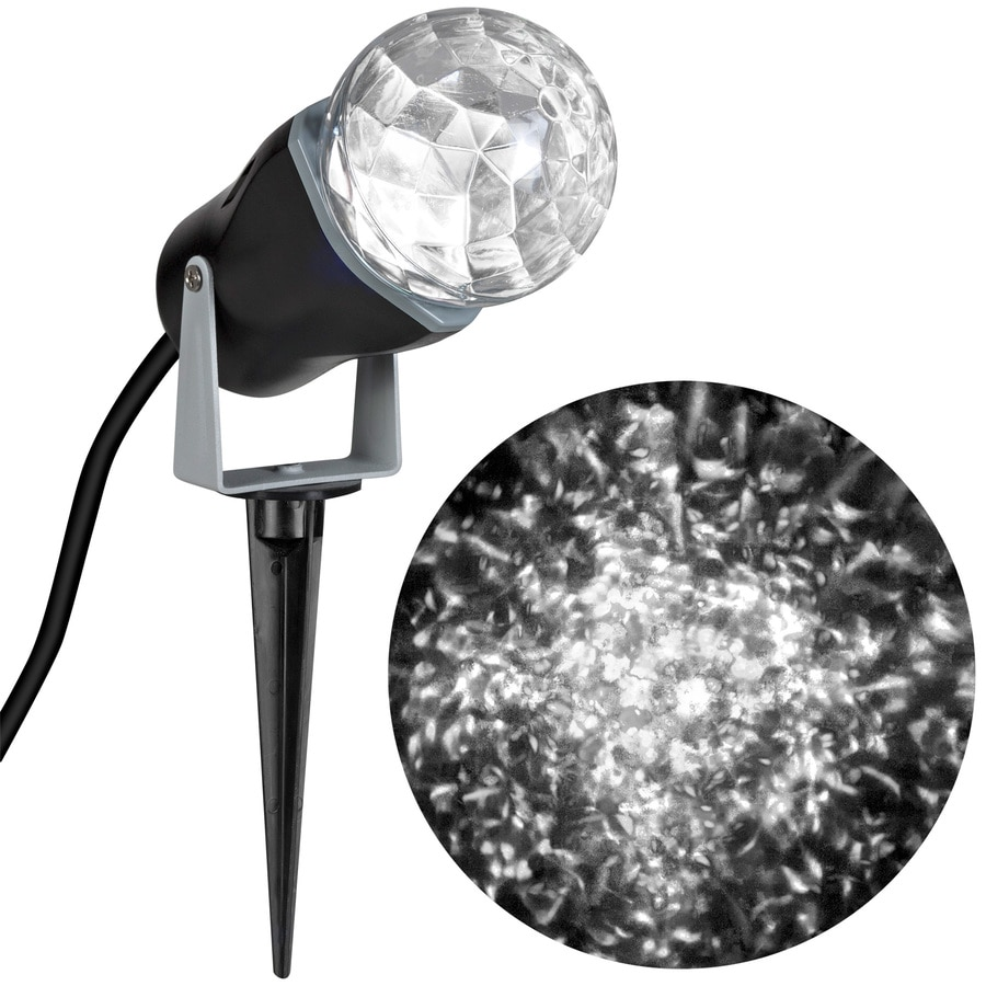 white led kaleidoscope christmas spotlight projector at lowes com