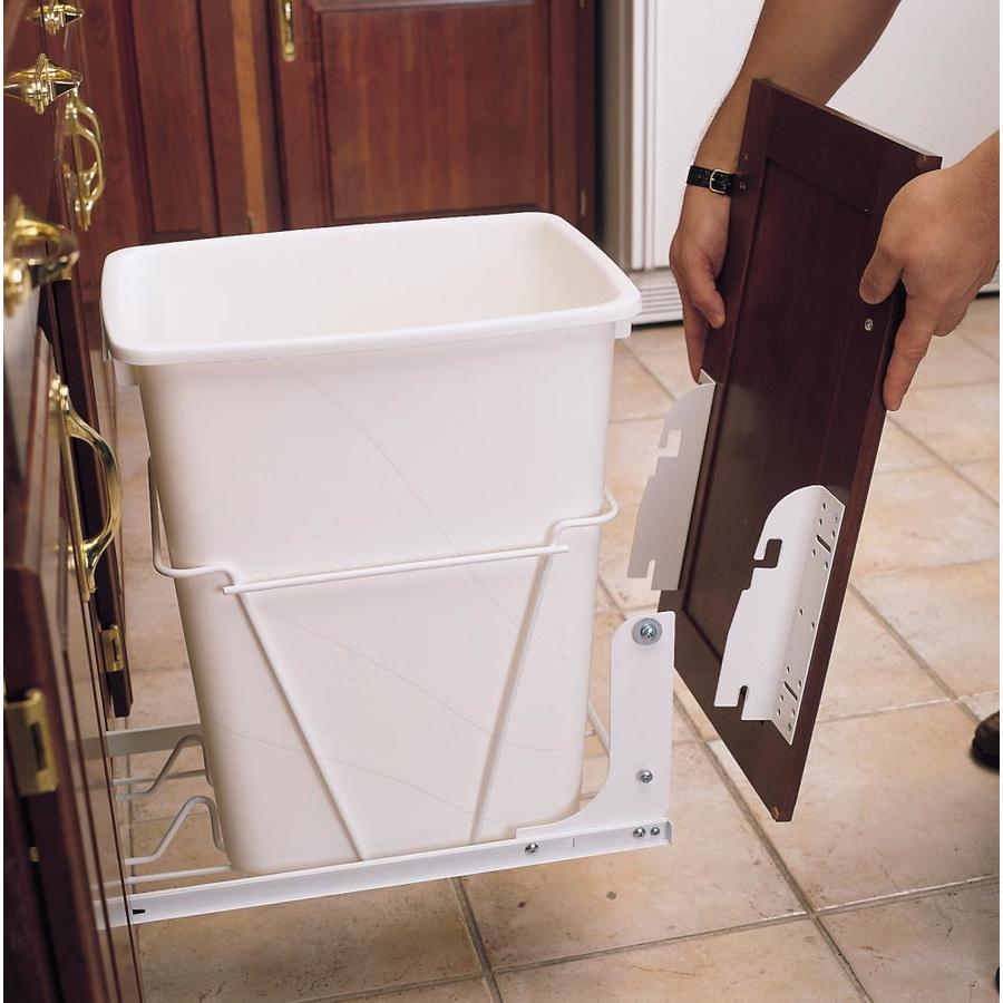 Shop Rev A Shelf Metal Pull Out Trash Can At