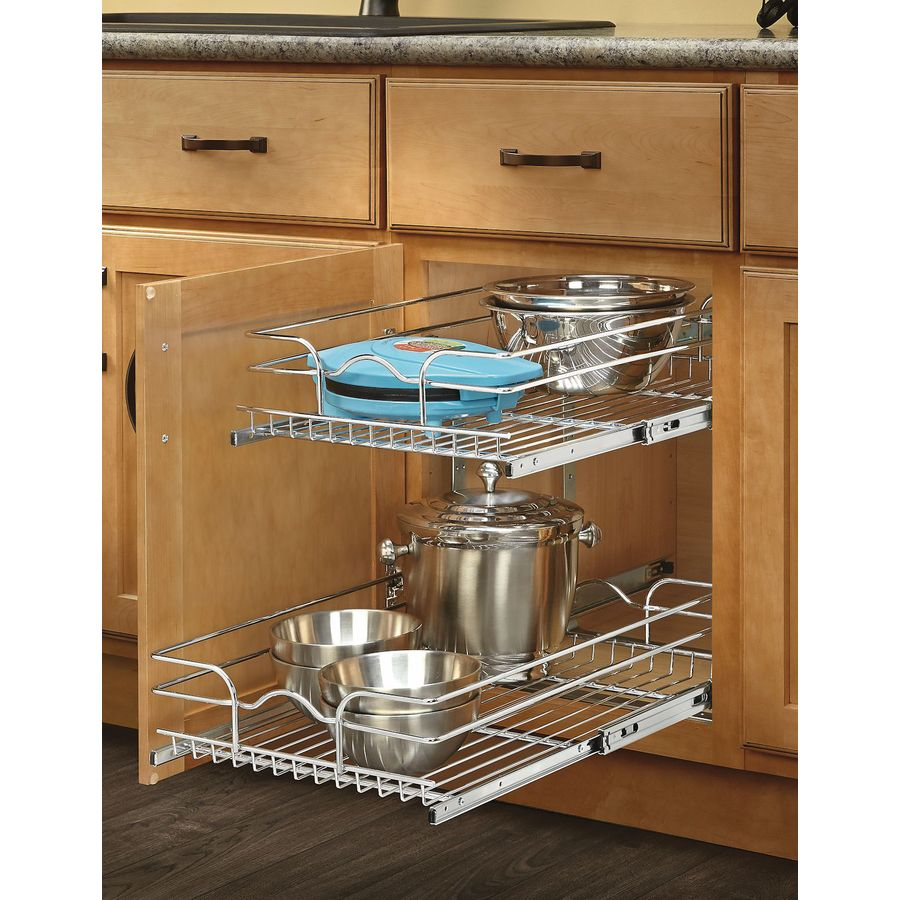 Best Kitchen Gallery: Shop Cabi Organizers At Lowes of Pull Out Drawers For Kitchen Cabinets on rachelxblog.com