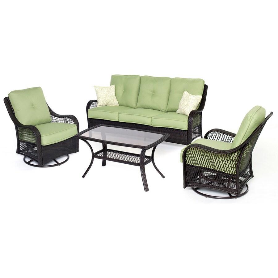 swivel glider patio conversation sets