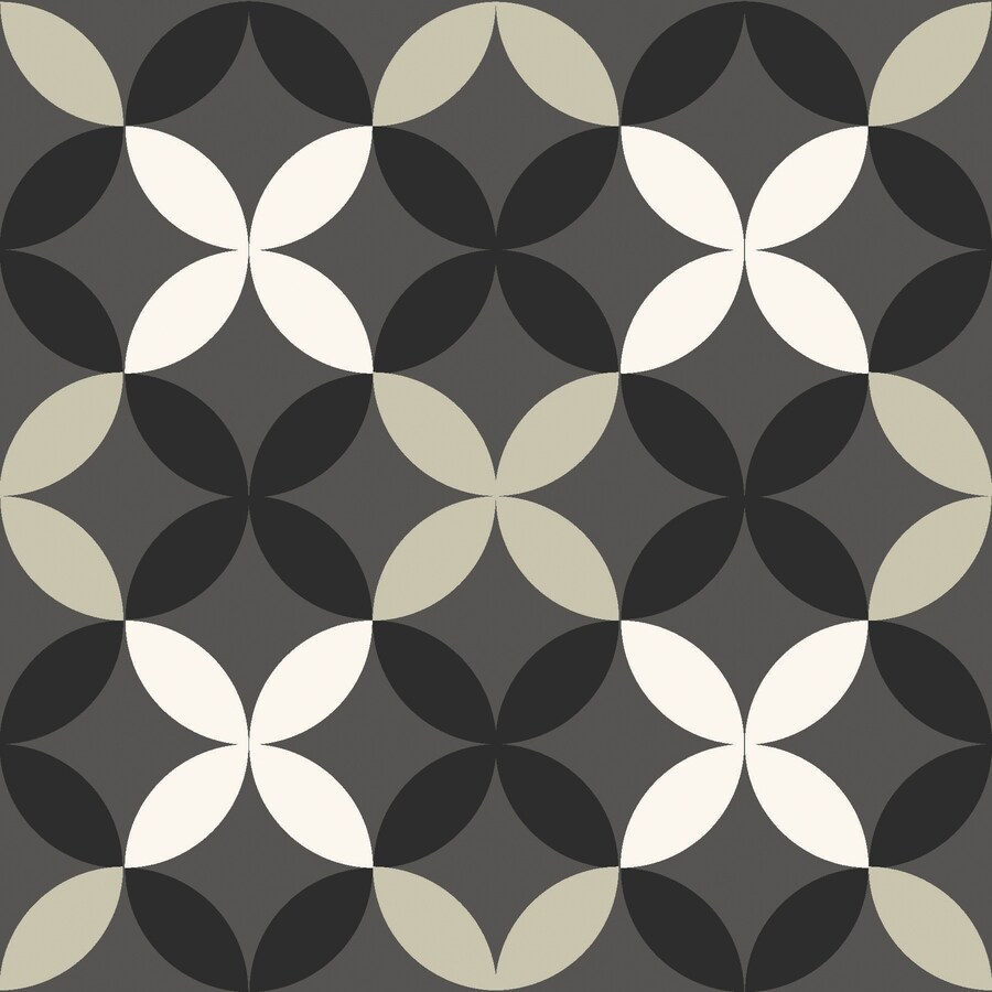 floorpops neutral 12 in x 12 in water resistant peel and stick vinyl tile 20 sq ft
