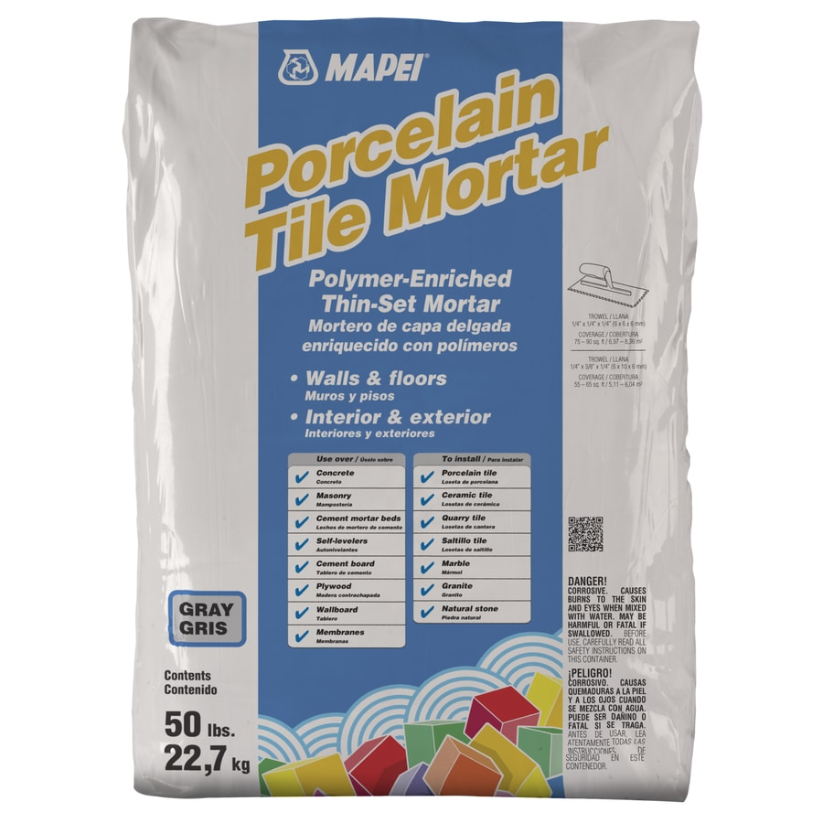 thinset mortar grout mortar at lowes com