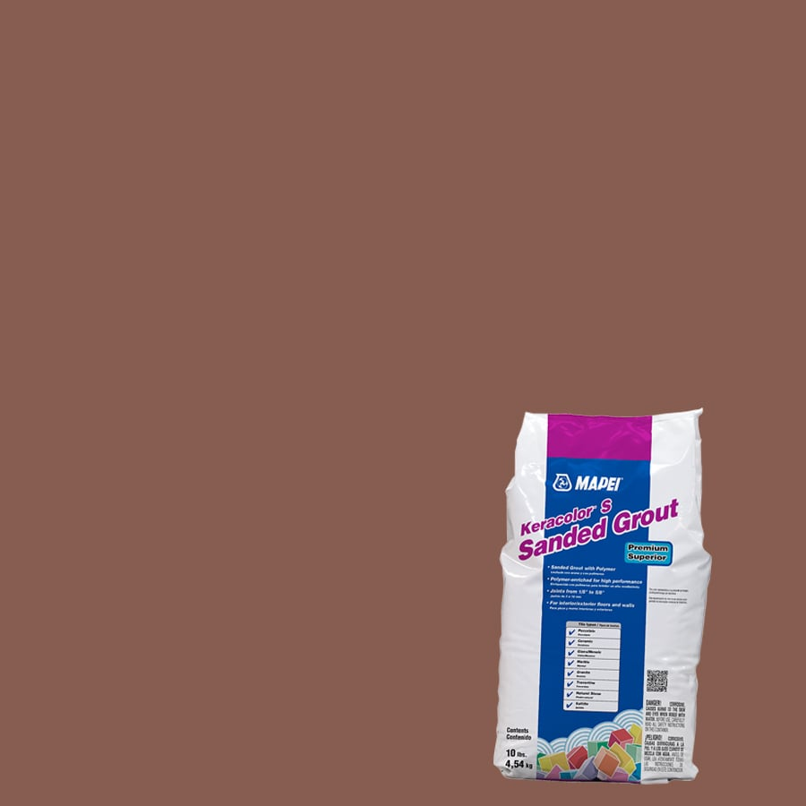 mapei keracolor s 10 lb terra cotta sanded powder grout