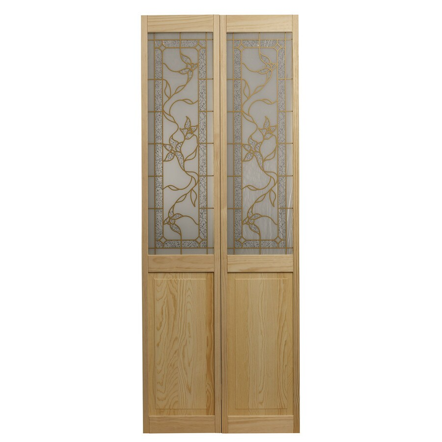 Shop Pinecroft Tuscany Unfinished Pine Wood 2 Panel Square