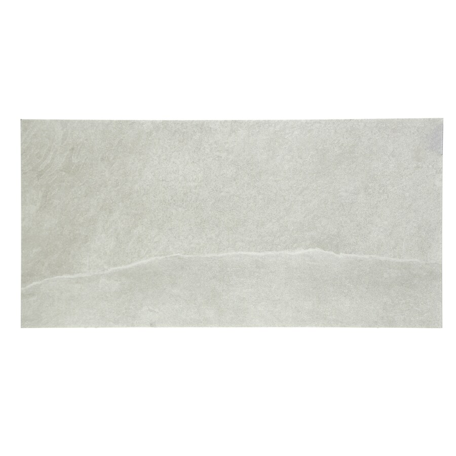 gbi tile stone inc dove grey gray glazed 12 in x 24 in glazed porcelain floor and wall tile
