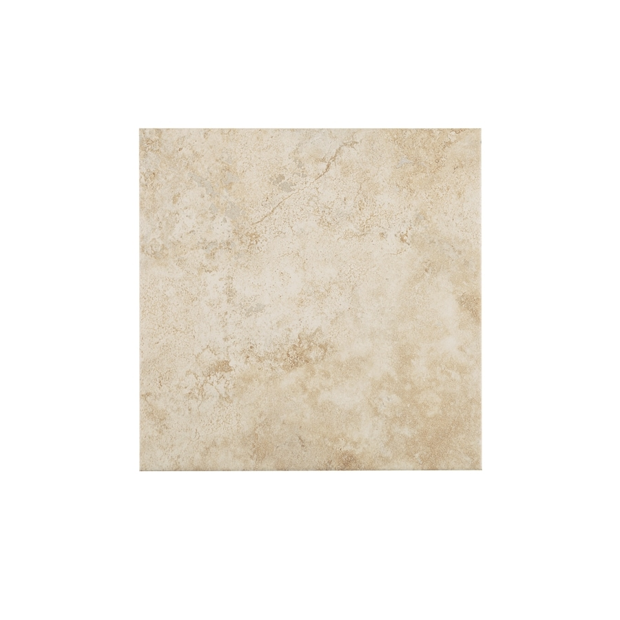 style selections capri classic 12 in x 12 in glazed porcelain marble look floor tile