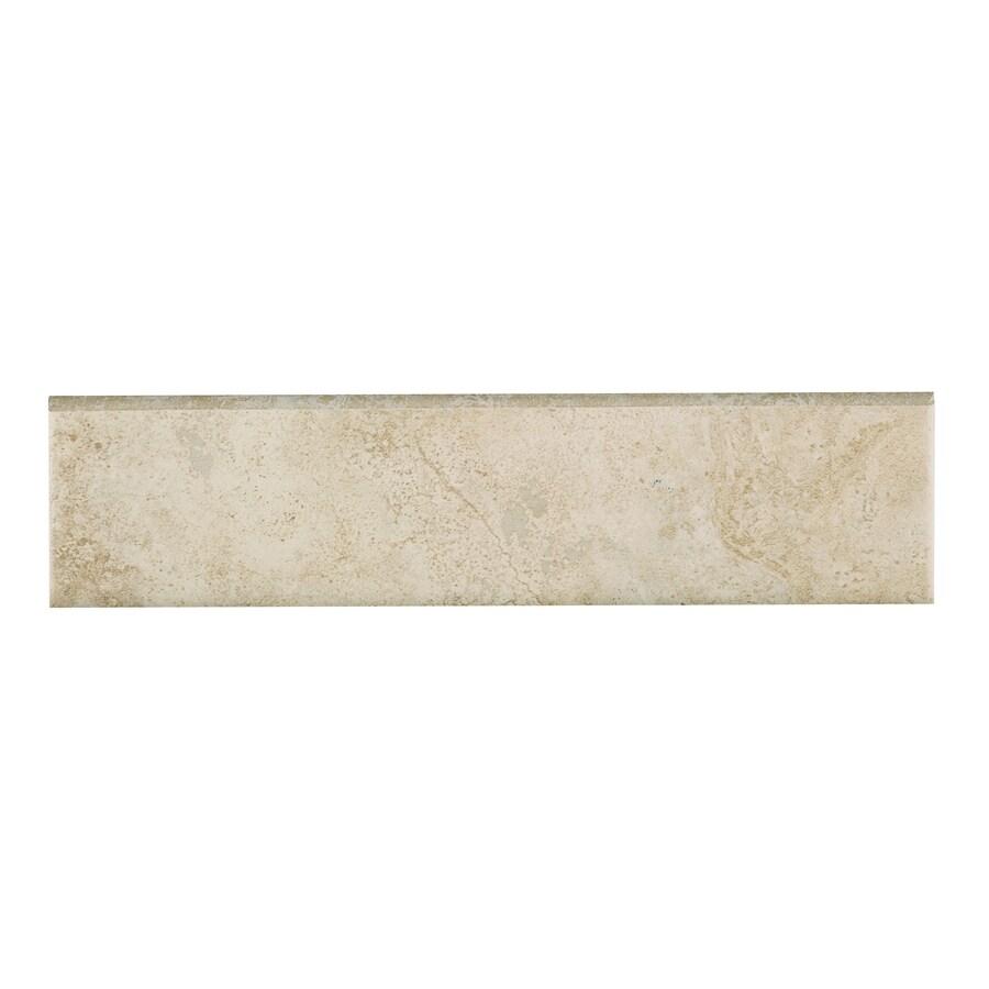 style selections capri classic thru body porcelain bullnose tile 3 in x 12 in