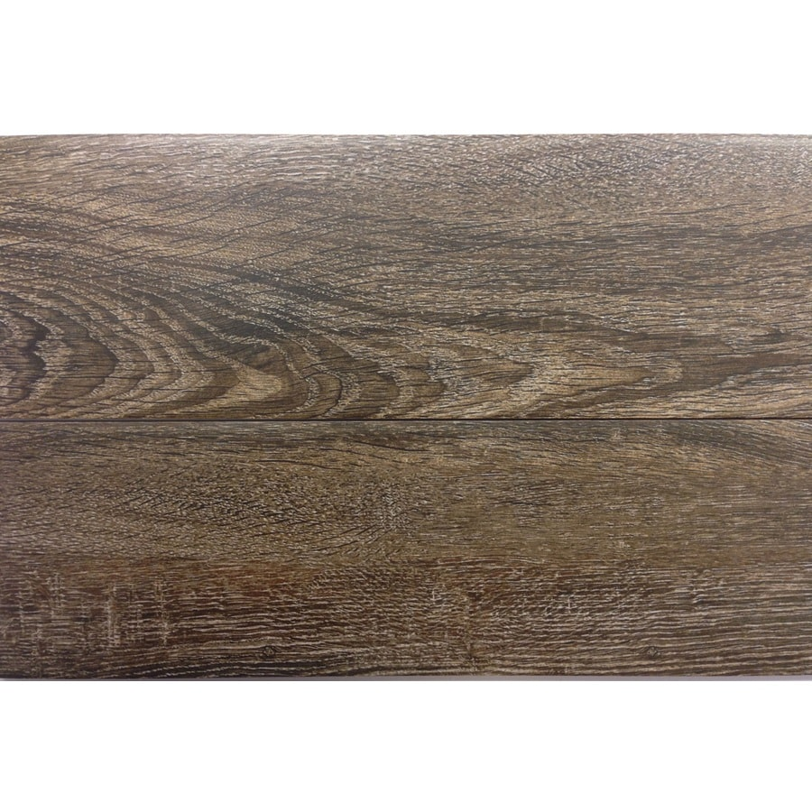 gbi tile stone inc madeira oak 6 in x 24 in glazed ceramic wood look floor tile