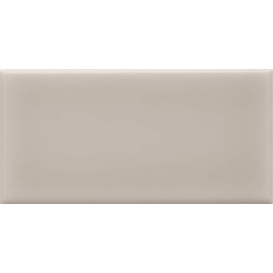 allen roth pearl 3 in x 6 in glazed ceramic subway wall tile lowes com