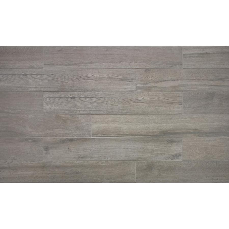 true porcelain co pacific coast ash 6 in x 36 in glazed porcelain marble look floor and wall tile