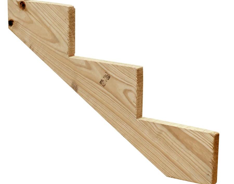 Severe Weather 3 Step Pressure Treated Pine Deck Stair Stringer In   Wood Stair Treads Lowes   Pine Stair   Stair Nosing   Flooring   Pressure Treated   Maple Stair
