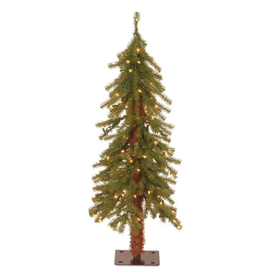 National Tree Company 3 Ft Pre Lit Slim Artificial Christmas With 50 Constant