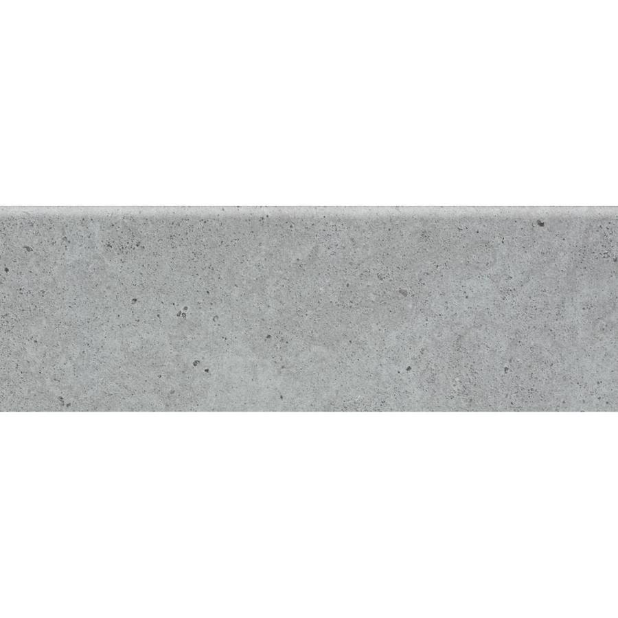 crossville chromacode 11 pack slate porcelain bullnose trim tile 4 in x 12 in