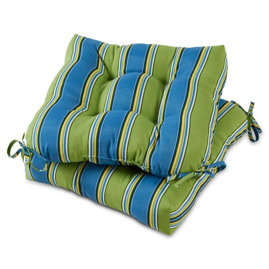 patio seating teal set of 2 greendale home fashions 20 inch outdoor chair cushion cushions
