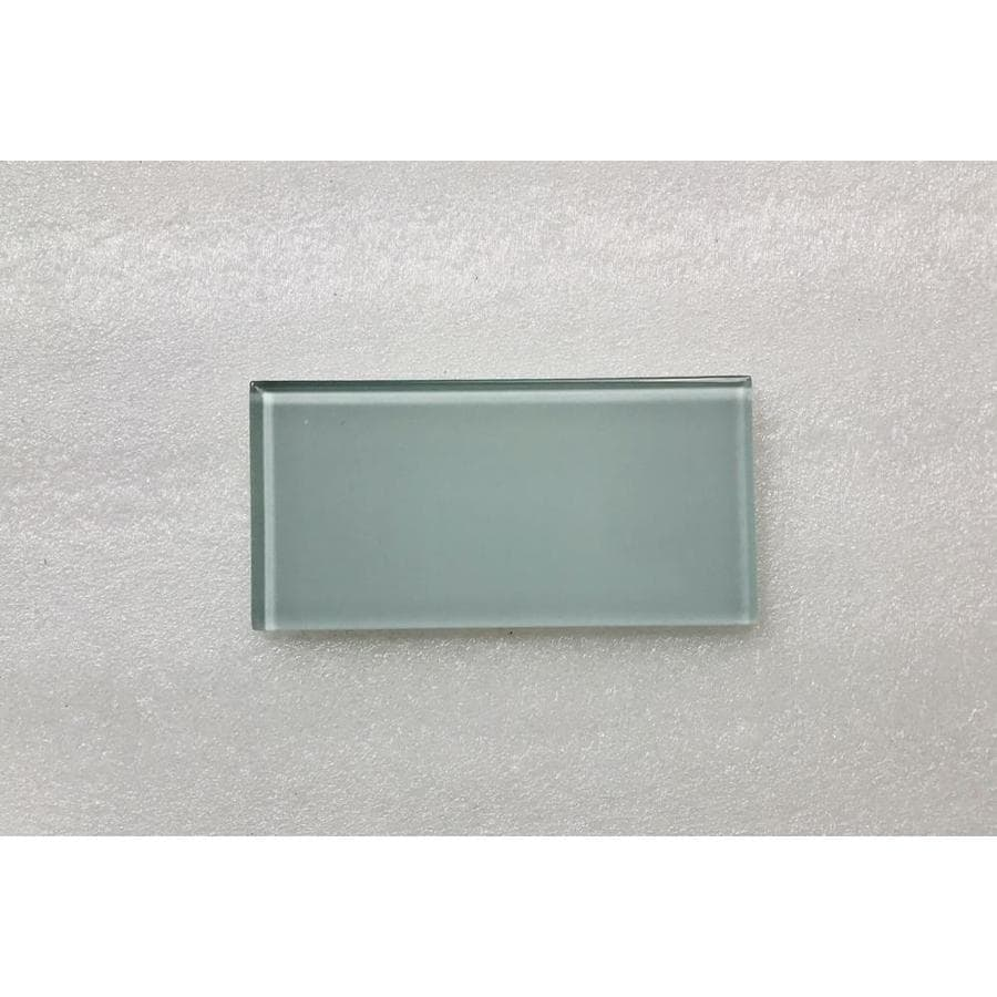 abolos metro 80 pack light blue glossy 3 in x 6 in glossy glass subway wall tile