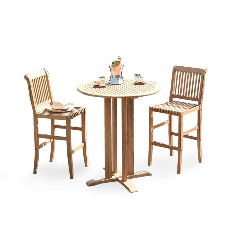 https www lowes com pd cambridge casual heaton 3 piece brown frame bar height patio set with bar height 1001859450