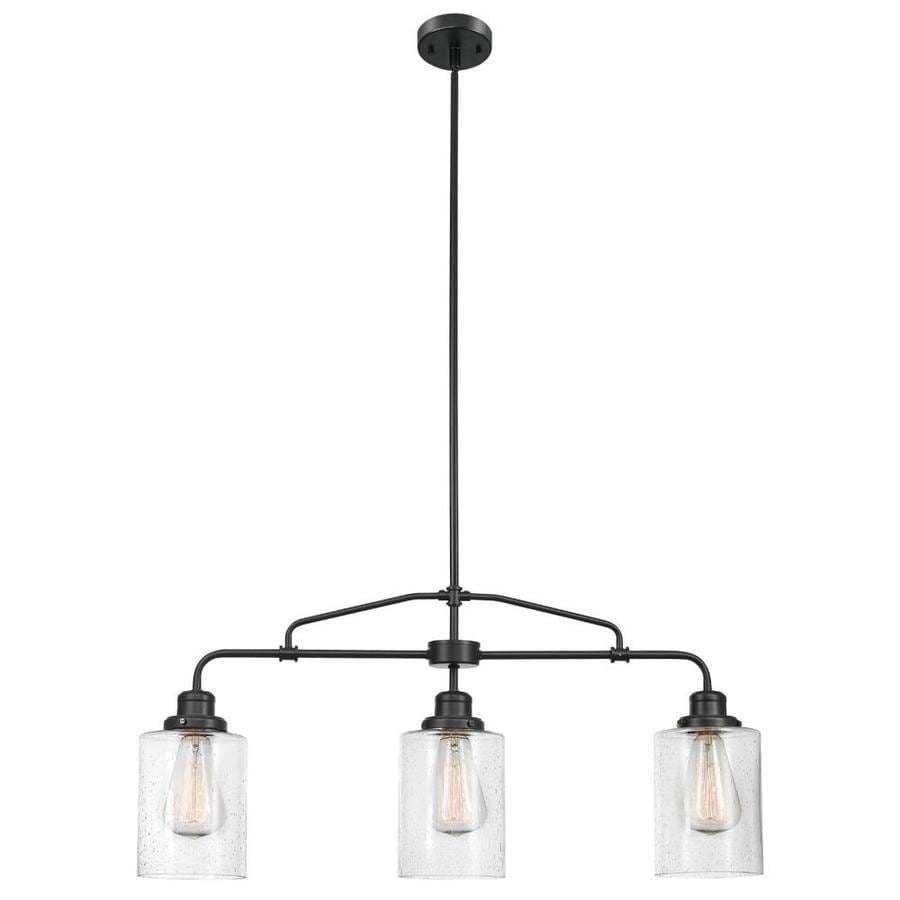 globe electric annecy 3 light dark bronze rustic chandelier