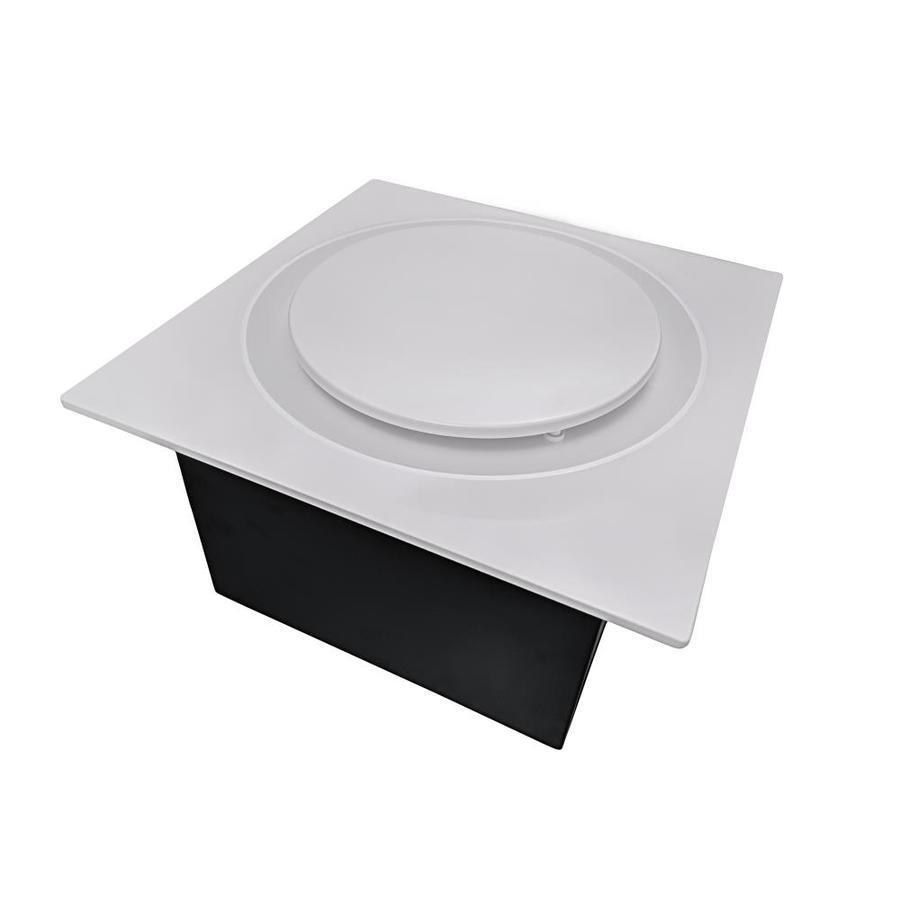 aero pure low profile quiet bathroom exhaust fans 1 1 sone 110 cfm white bathroom fan energy star