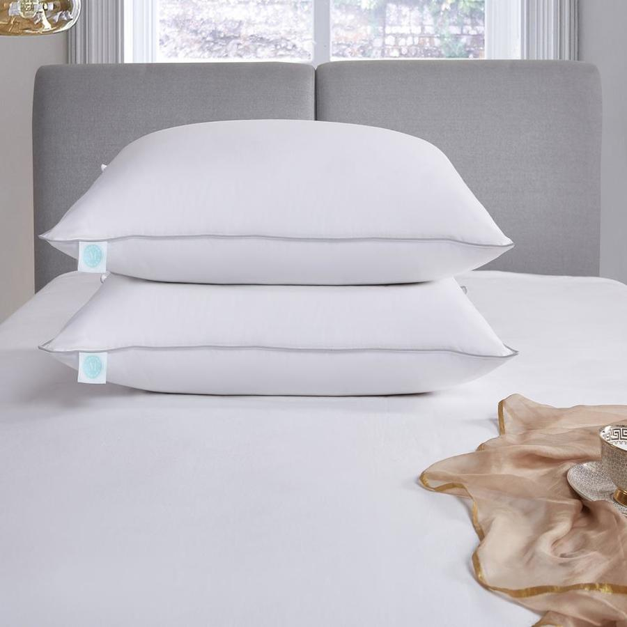 martha stewart 400 thread count standard queen medium down bed pillow