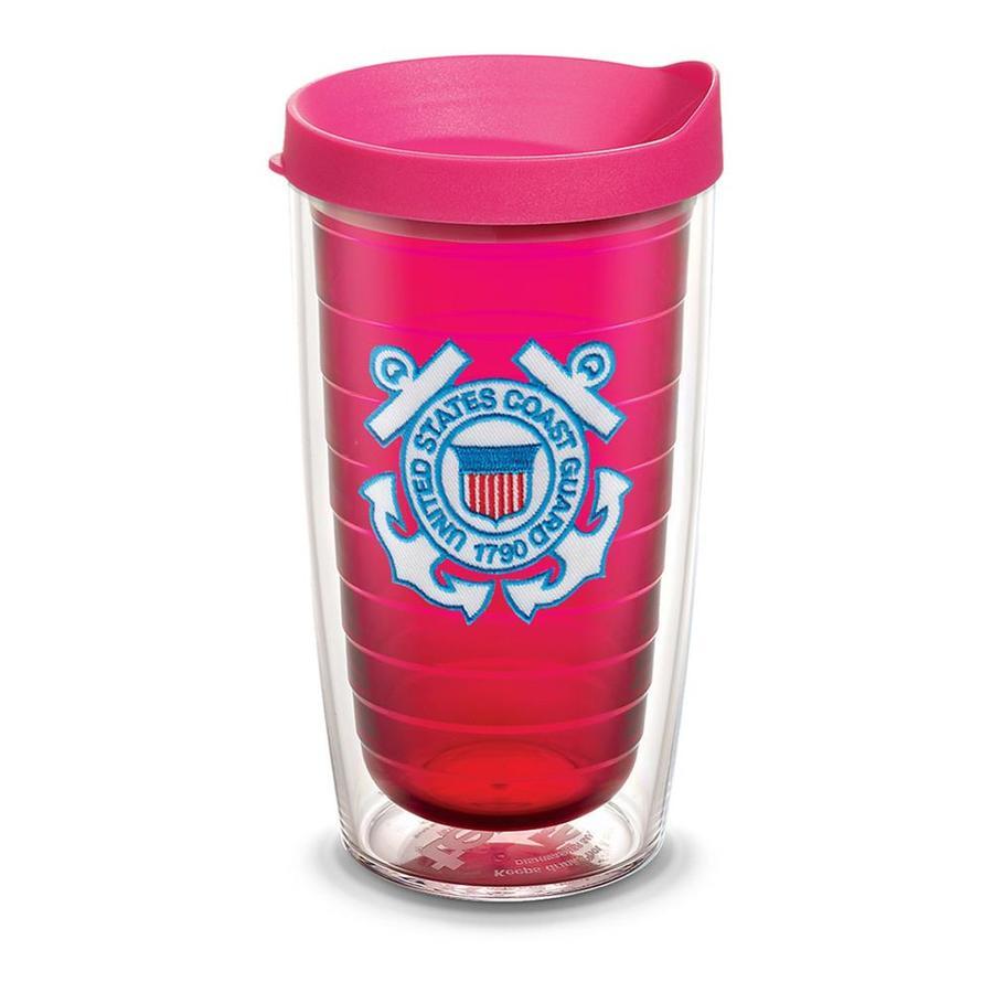 tervis u s coast guard u s coast guard logo 16 fl oz plastic tumbler
