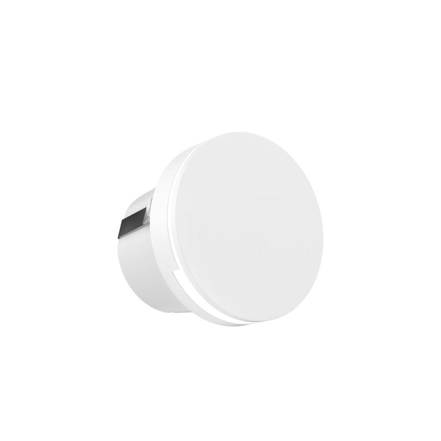dals lighting ledstep 3 25 in h white led outdoor wall light