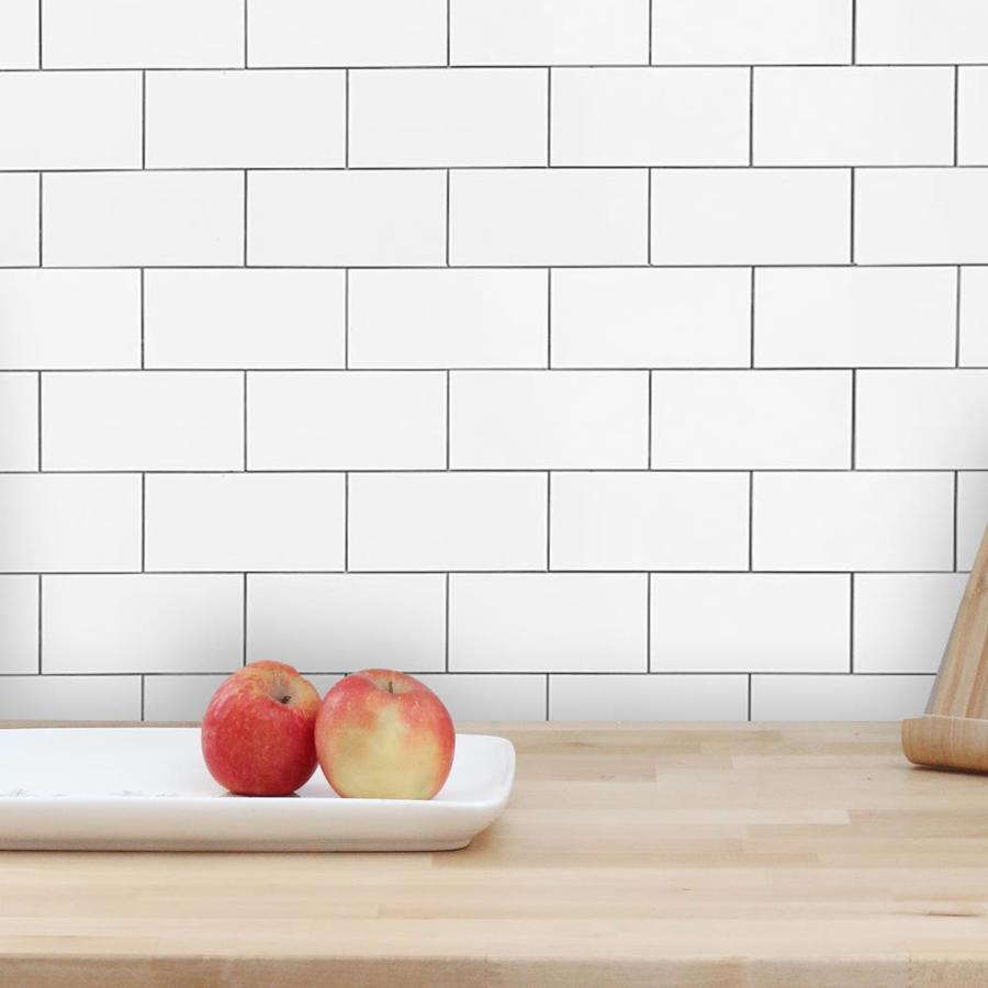 stick tile backsplash