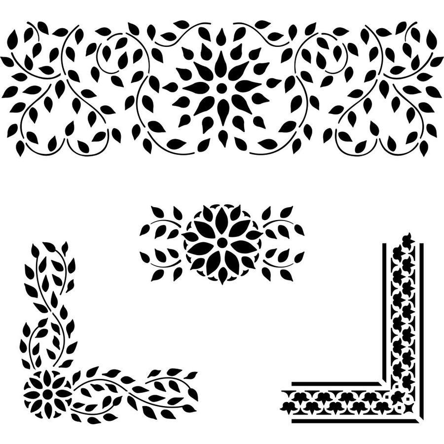designer stencils craft supplies at