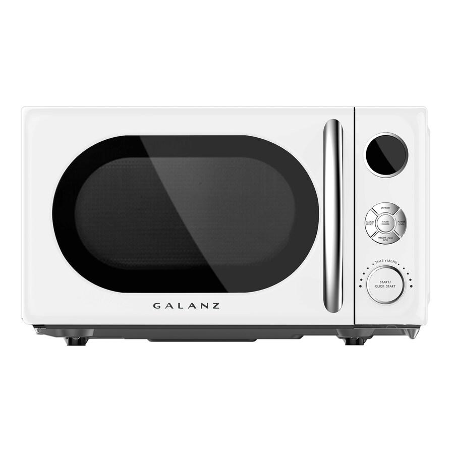 daewoo microwave retro white