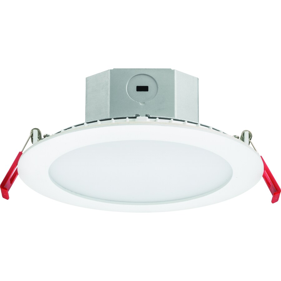 juno 6 in led remodel and new construction white ic shower recessed light kit