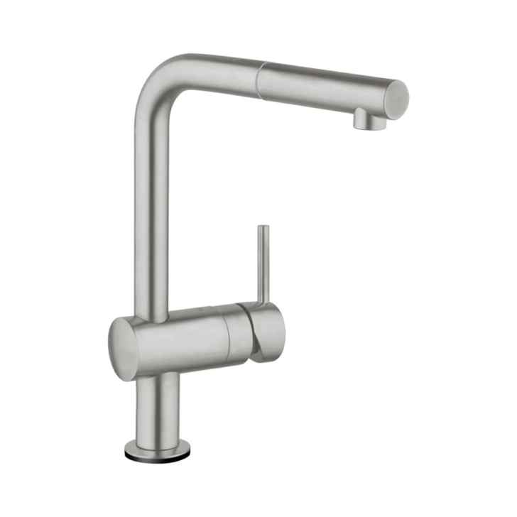 Touch Supersteel Handle Pull Out Kitchen Faucet